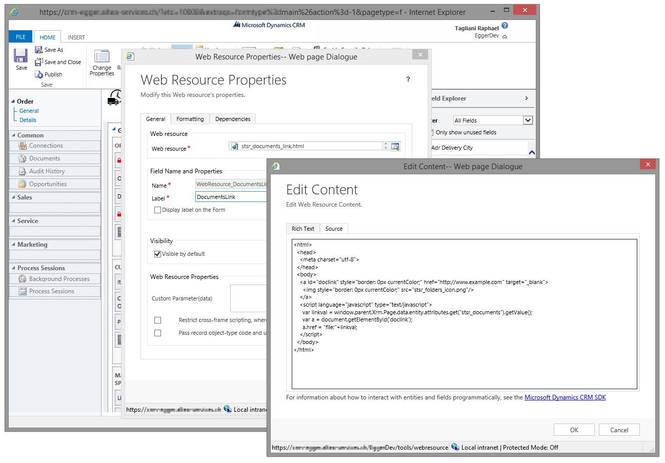 Open local file/folders in Dynamics CRM 2013 – Zealots * Solar